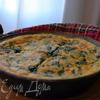 фриттата с сыром и шпинатом