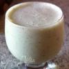 Бананово-мятный молочный коктейль