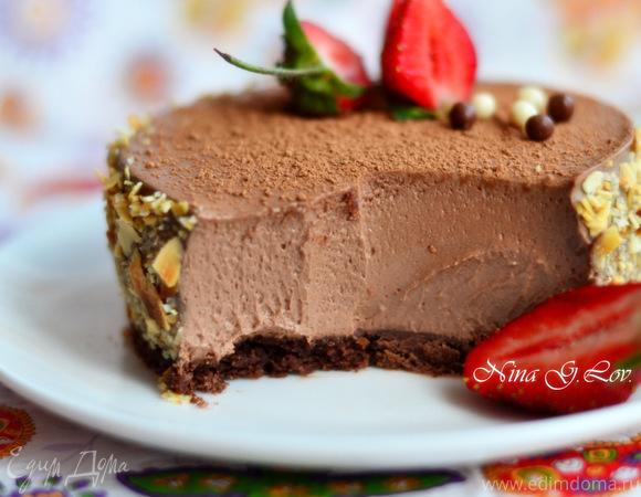 Шоколадный чизкейк «Вкус лета»