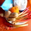 "Тарталетки с ревеневым мармеладом в креме от Джейми Оливера (""Вкус лета"")"