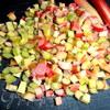 Нежнейшее порционное клафути с ревенем в корице