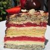 Клубнично-маковый торт