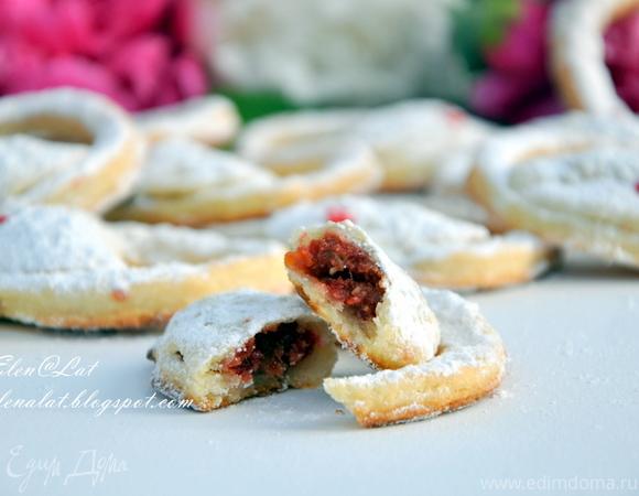 """Творожное печенье """"Сумочки"""""""