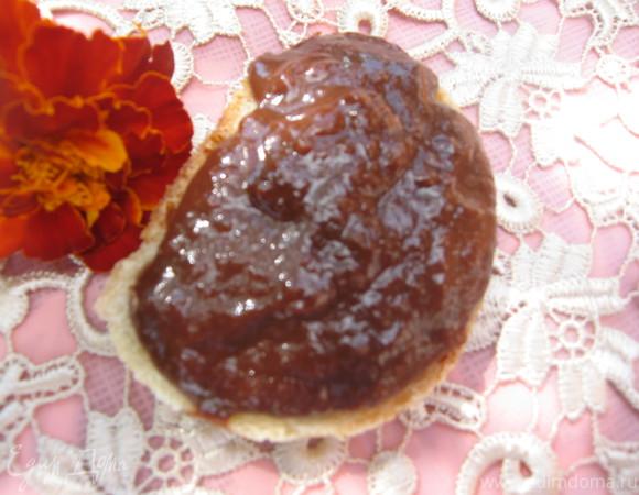 Шоколадно-банановая джем-паста