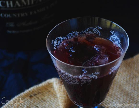 Освежающий черничный коктейль («ПРОХЛАДИТЕЛЬНЫЕ НАПИТКИ»)
