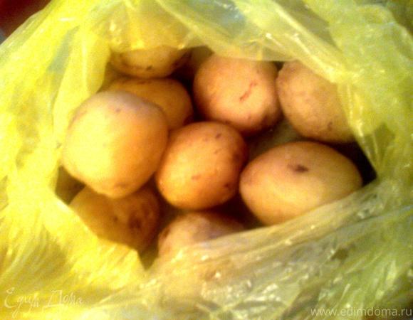 """Картофель """"ленивый"""" в микроволновке"""
