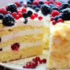 """Торт летний """"Лимонно-ягодный"""""""