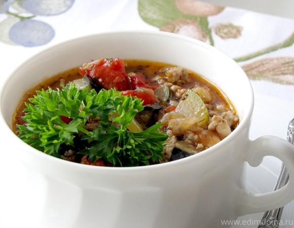 Овощное рагу по-провански