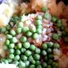 Картофельная горка с анчоусами