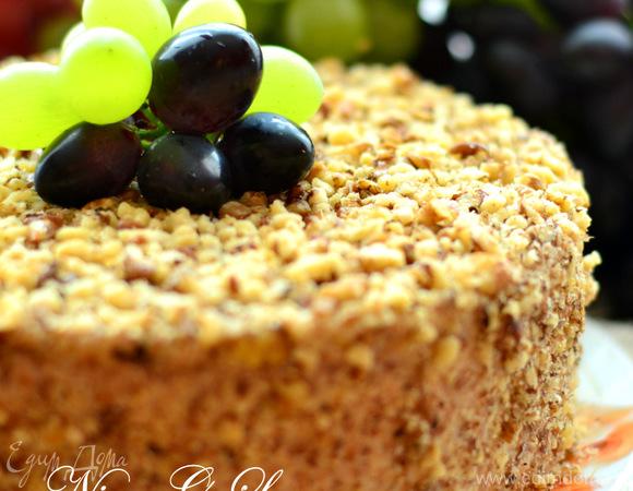 Торт «Грецкий орех»
