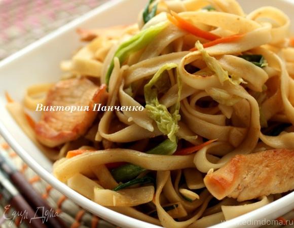 Чоу мейн - китайская жареная лапша (Chow Mein)