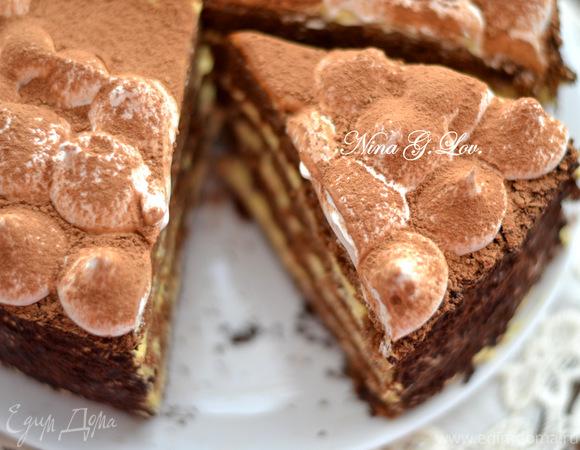 Показать торт тирамису