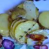 Запеченный хрустящий картофель