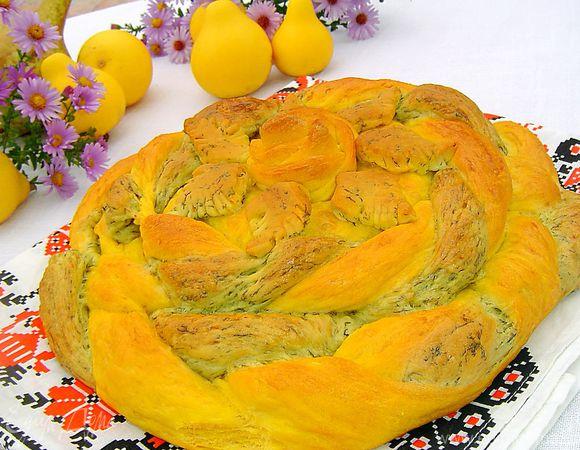 Хлеб «Цвета осени»