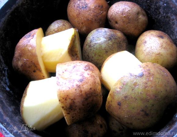 """""""Боровики"""" из картофеля"""