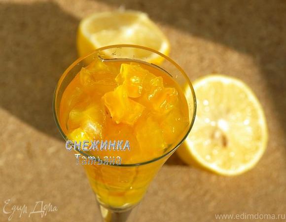 Кабачковое варенье со вкусом ананаса