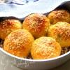 Хлеб закусочный с оливками и сыром