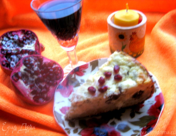 Дважды творожный пирог