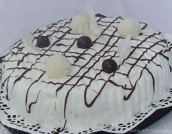 Торт «Зимняя ночь»