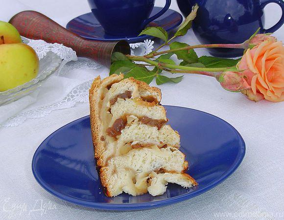 Пирог «Экзотический цветок»
