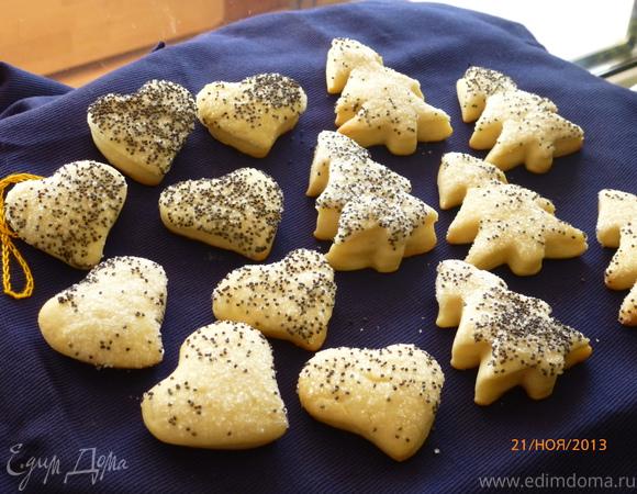 рецепты сметанного печенья