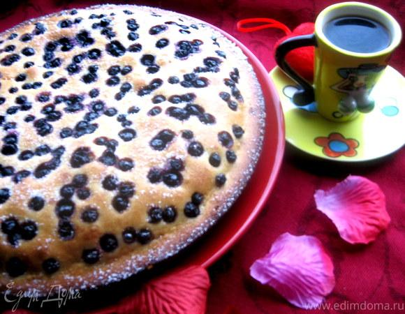 Черничный пирог от Джейми Оливера