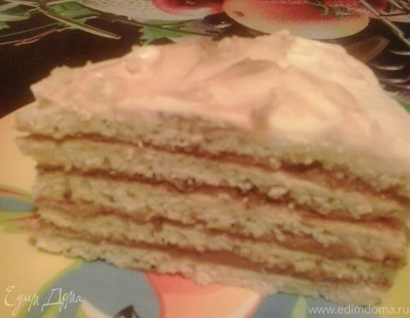 """Творожный торт """"Для любимых"""""""
