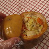 Жаркое с курицей и пшеном в тыквенном горшочке