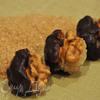 Конфетки с миндально-винной начинкой и кленовым сиропом