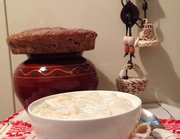 Локшины (старинное белорусское блюдо из крахмальных блинчиков)