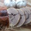 Рулет из утки с финиками и орехами