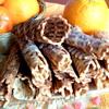 Хрустящие вафли с цукатами