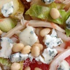 Салат с кальмарами, грейпфрутом и цикорием