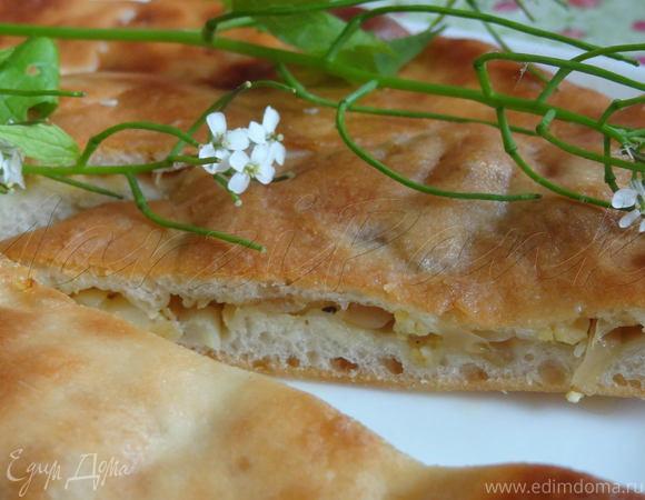 Осетинские пироги с двумя видами начинки