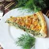 """Открытый пирог с творогом и зеленью """"Витаминный"""""""