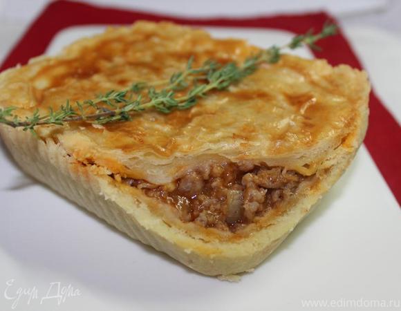 Австралийский мясной пирог (Australian meat pie)