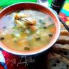 Суп на курочке с овощами и макаронами
