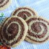"""Имбирно-шоколадное печенье """"Спираль"""""""