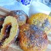 Тыквенно-творожные булочки