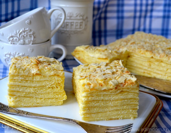 """Торт """"Наполеон нежный"""""""