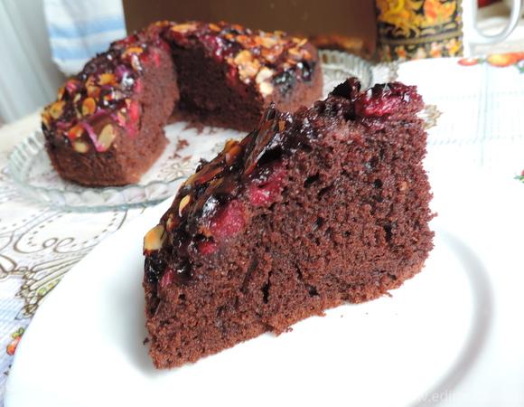 Шоколадный пирог на сметане