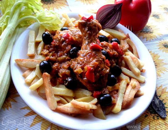 Куриные ножки по-средиземноморски