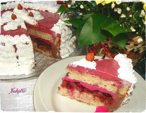 """Торт """"Фруктово-Ягодный букет"""""""