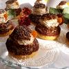 Пирожное Шу с ванильно-шоколадным cremeux