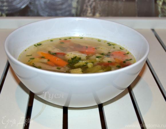 Легкий весенний суп