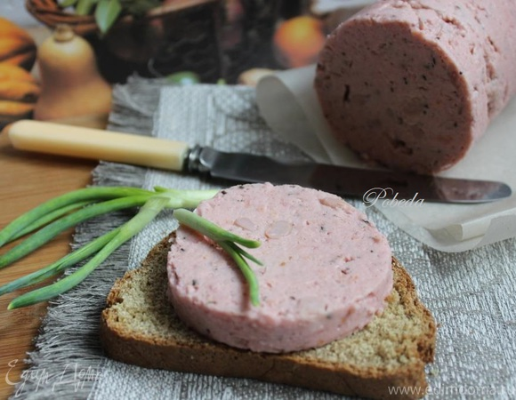 Колбаса «Постная» из гороха