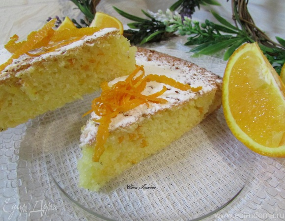 Апельсиновый манник
