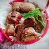 Творожно-шоколадное печенье с начинкой