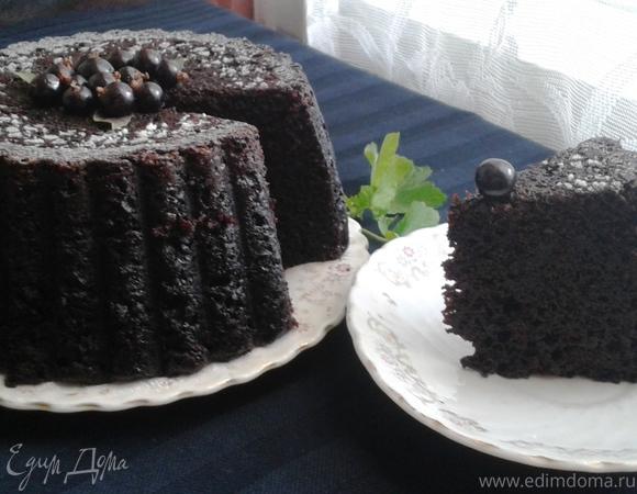 Американский шоколадный пирог времен Великой депрессии
