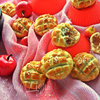 Рассыпчатое китайское печенье с ананасом